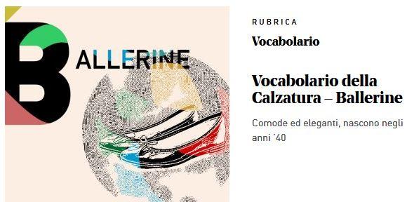 Una rubrica del magazine di brand journalism Italian Shoes